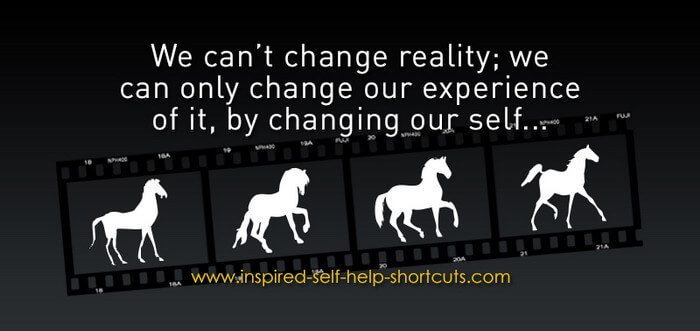 The best self help advice is to know that all change begins in your mind!