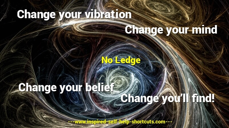 This inspired self help test message advises to change your mind about your belief, then your vibration and thus your reality will change.