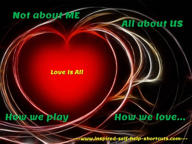 This inspirational self help message is about how we play the game of life. A truly successful life is measured by our passion, our love and how we treat others.