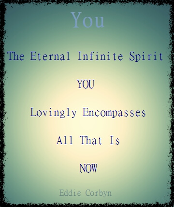 You are a Spirit being within the idea of All That Is!