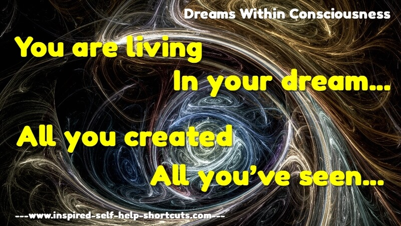 This advanced self help health message reminds you that any and all realities are first imagined by your higher self.