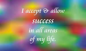 Allowing Success