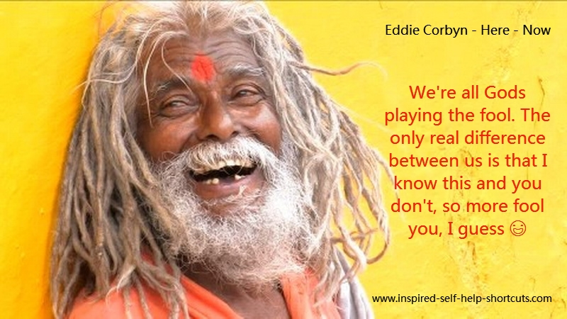 A Hindu Shaman who has remembered the oneness of All That Is treats everyone as the same God that they are!