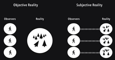 Objective vs Subjective Reality!